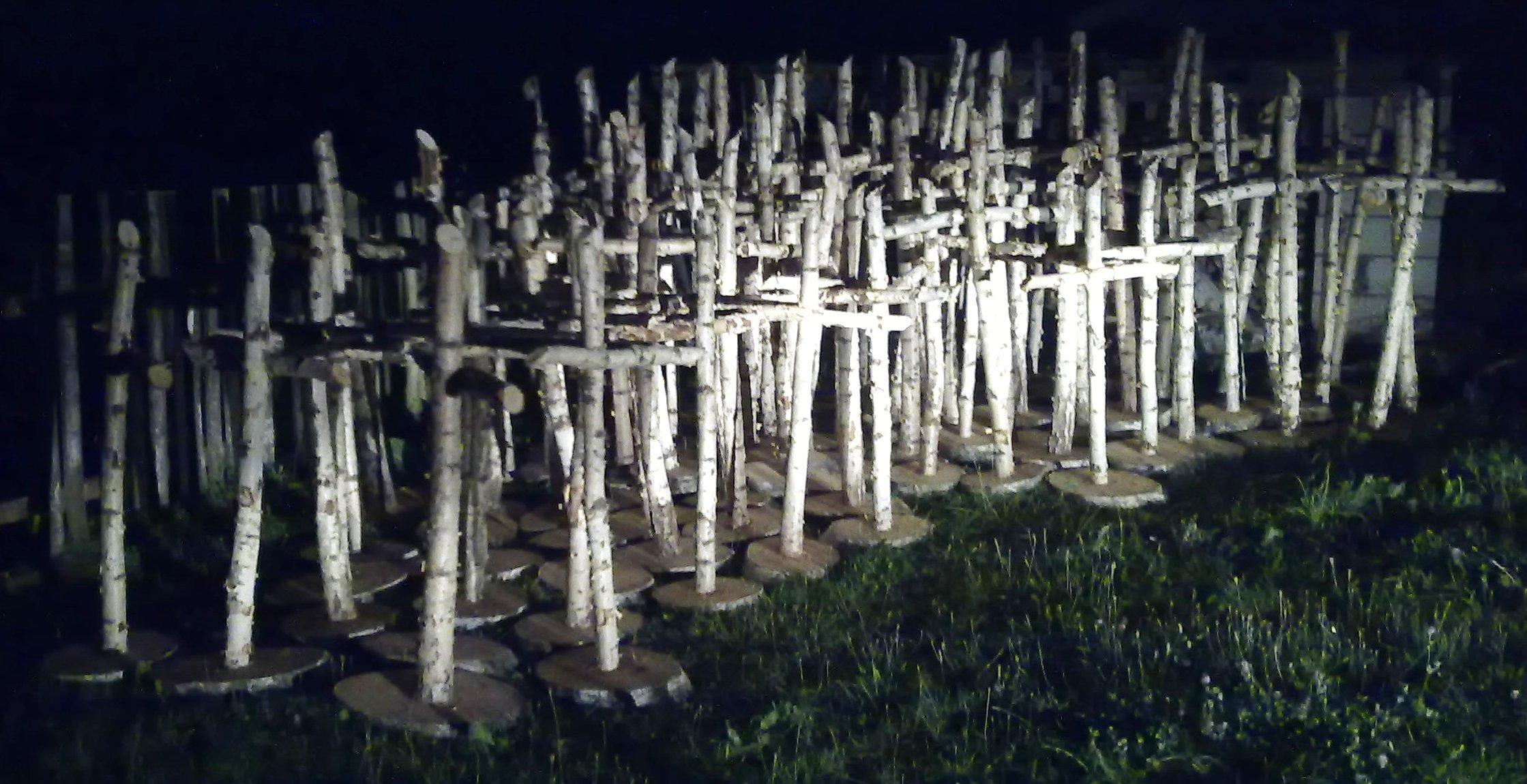 Birnamski Las Krzyży